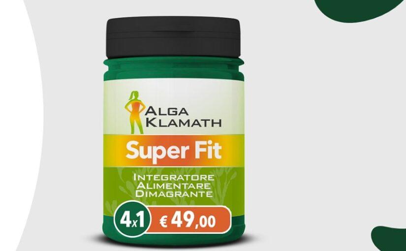 Alga Klamath Super Fit per perdere peso: ingredienti, recensioni e dove acquistarlo